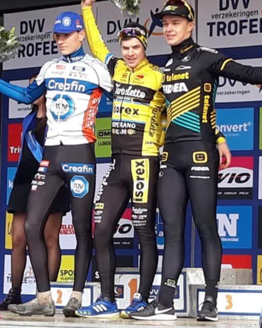 Niels Derveaux wint de DVV-Verzekeringen Trofee