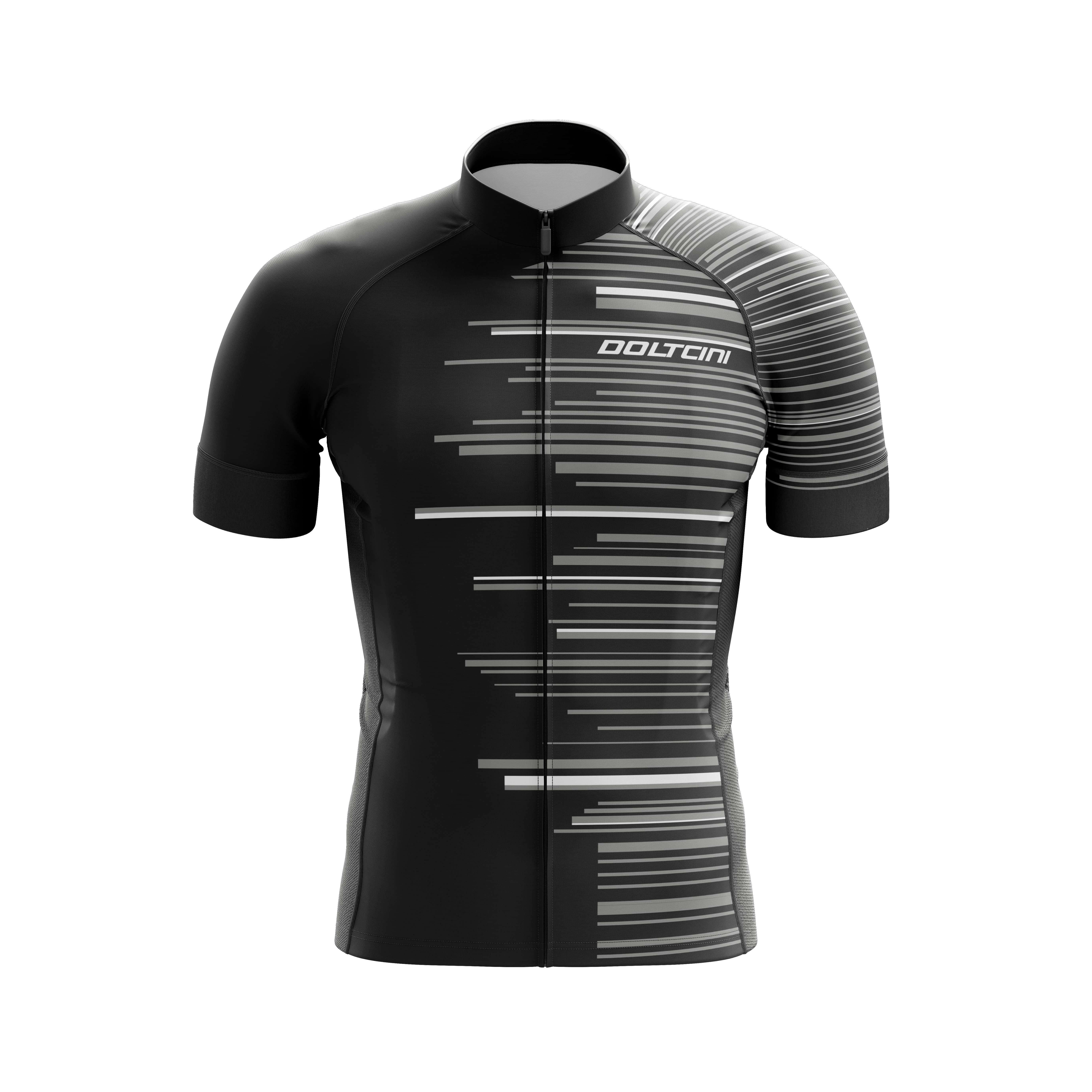 Shirt 3D Doltcini GANNON Grey black-min